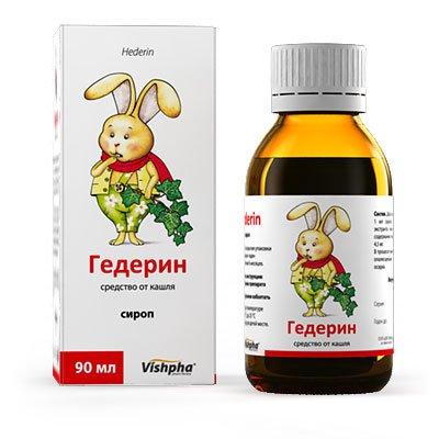 Гедерин — эффективный сироп от влажного и сухого кашля- Фото 1